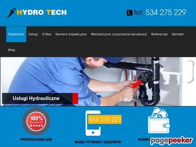 Hydro Tech czyszczenie kanalizacji Łódź