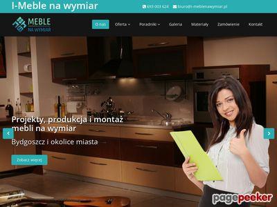 Kuchnie na wymiar Bydgoszcz.