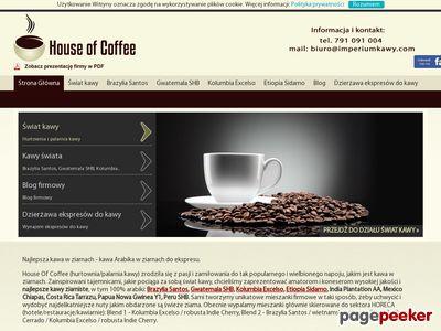 Kawa ziarnista do ekspresu ciśnieniowego
