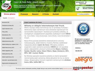 Ital Truck - części Iveco Daily