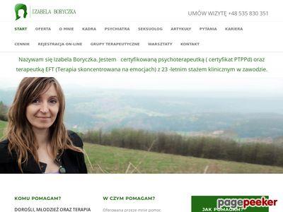 Izabela Boryczka - Psychoterapeutka z Wrocławia