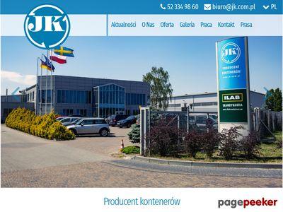 Www.jk.com.pl - Kontenery na śmieci
