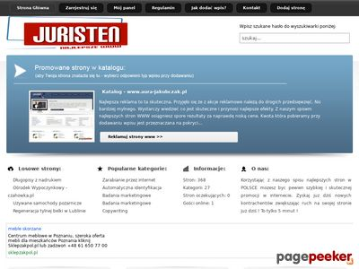 Najlepszy spis stron - www.juristenvz.com