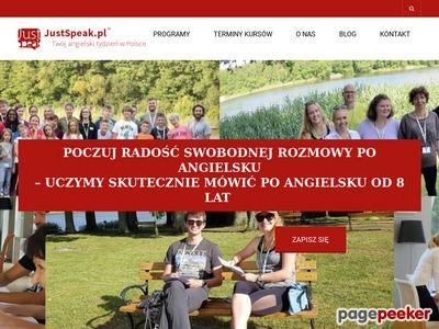 Kursy angielskiego za granicą - JustSpeak