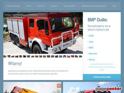 BMP Duśko - Modernizacje samochodów ciężarowych