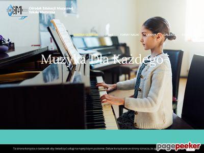 Szkoła muzyczna Warszawa