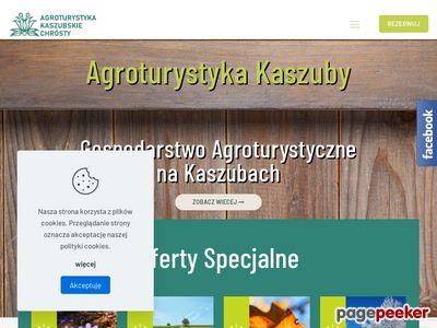 Agroturystyka kaszubskie Chrósty
