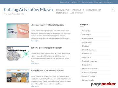 Katalog Firm, Stron Mława, Ciechanów, Działdowo i okolice