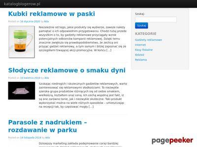 Darmowy katalog blogów