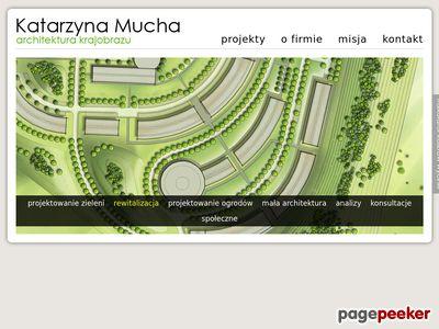 Architektura krajobrazu - Katarzyna Mucha