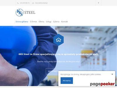 KKS Steel - hurtownia stali