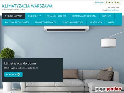 Klimatyzacja wentylacja Warszawa