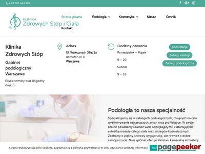Podolog - Klinika Zdrowych Stóp i Ciała