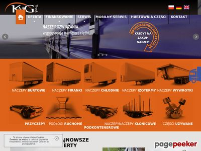 KMG Truck- Serwis naczep, hydraulika siłowa