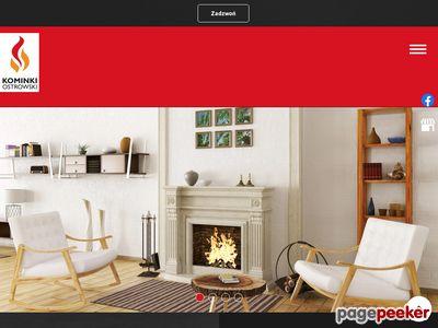 Kominki mazowieckie, Kominki Warszawa i okolice