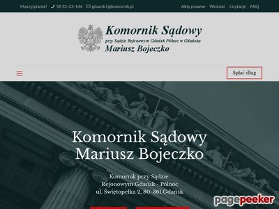 Licytacje komornicze Gdańsk
