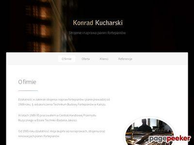Strojenie i Naprawa Pianin i Fortepianów Konrad Kucharski