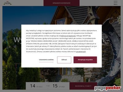 wesele w zakopanem - www.kraina-smaku.com.pl