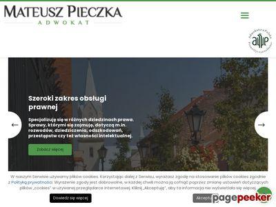Mateusz Pieczka - Adwokat | Kraków i Oświęcim