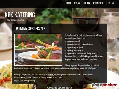 KrkCatering - Catering na komunię, wesele - Kraków, Wieliczka