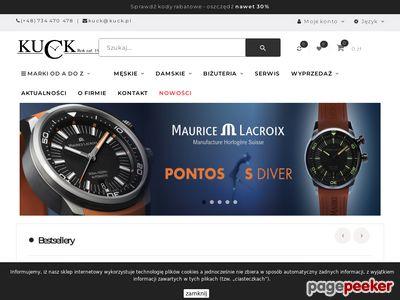 Kuck sklep z zegarkami: zegarki Omega