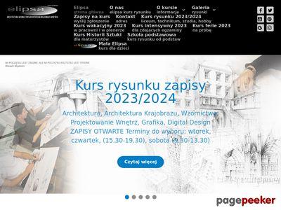 Kurs rysunku Kraków - przygotowanie na architekturę