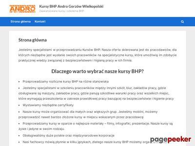 Andro - Kursy BHP