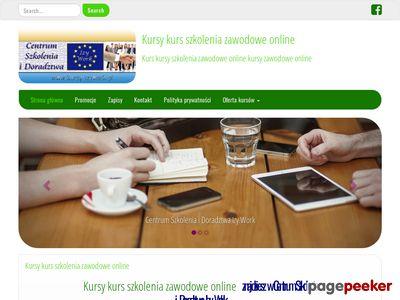Kursy szkolenia e-learningowe opiekunka seniora BHP