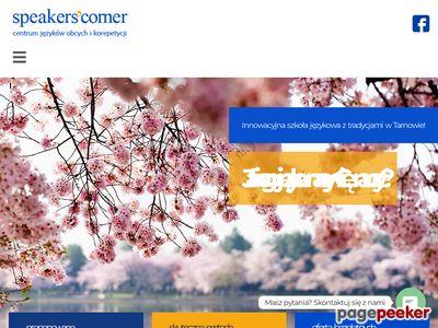 Kursy angielskiego, niemieckiego - Speakers Corner