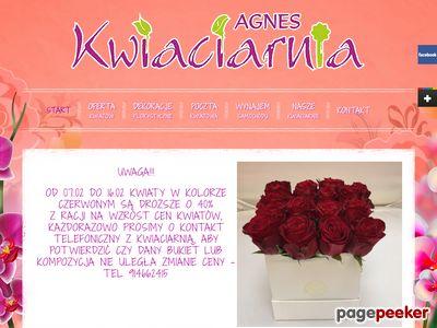 Kwiaty Szczecin Kwiaciarnia Agnes