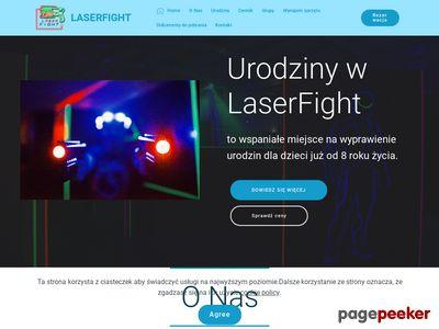 Laser Fight - Laserowy Paintball - Bydgoszcz