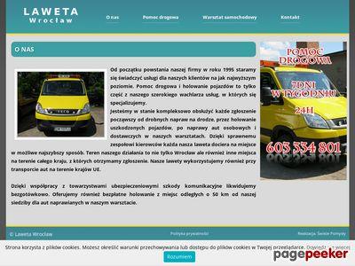 Pomoc drogowa Wrocław
