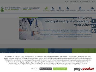 WITOLD KOLBER laparoskopia małopolskie