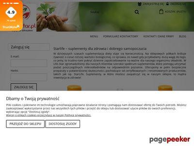 Www.life-star.pl - Suplementy diety
