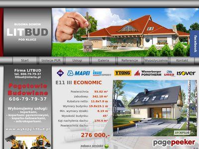 LitBud - budowa domów Kraków