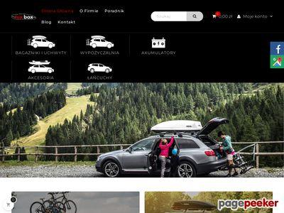 Luxbox - Bagażniki Samochodowe, Boxy, Akumulatory, Łańcuchy