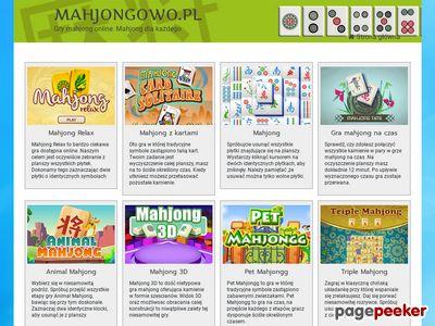 Gra logiczna mahjong