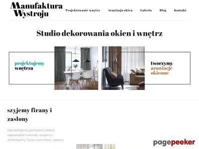 Rolety rzymskie Warszawa