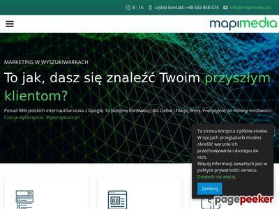 Mapi Media – projektowanie stron