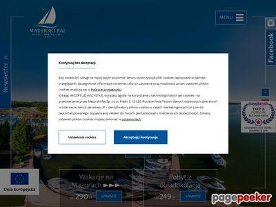 Hotel SPA na Mazurach - www.mazurskiraj.pl
