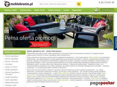 Meble ogrodowe- zakupy online.