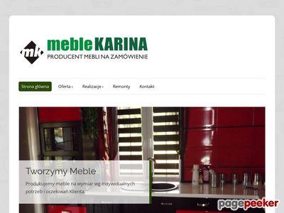 Meble Karina - Meble na wymiar