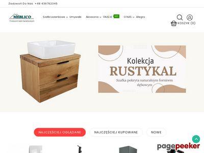 Meblico - Polski producent mebli łazienkowych
