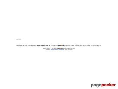 MediCure.pl - Medyczny Sklep Internetowy