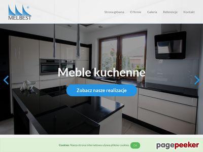 Melbest -meble kuchenne i sklepowe na wymiar, producent, Szczeci
