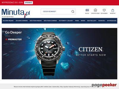 Minuta.pl - zegarki
