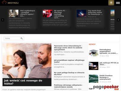 Portal informacyjny Mistrzu.com
