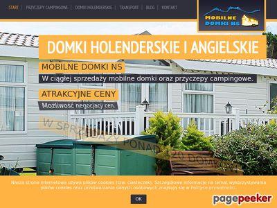 Domki Holenderskie - Mobilne Domki NS