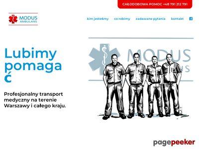 Www.modusambulans.pl