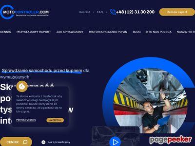 Sprawdź auto z MotoControler